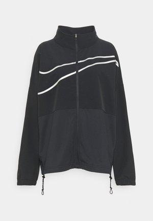 Sportovní bunda - black/silver