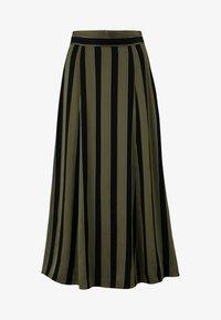IVY & OAK - A-line skirt - dark olive - 4
