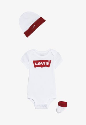 CLASSIC BATWING INFANT BABY SET - Body - white