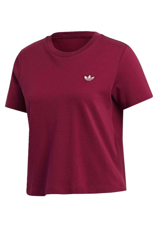 adidas Originals T-shirt basic - purple Odzież Damska UHAG UT 8