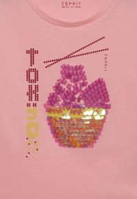 Esprit - TEE - Longsleeve - neon pink - 3
