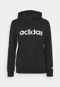 adidas Performance - Hoodie - black/white - 5