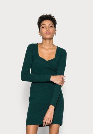 PARTY PORTRAIT NECK - Jumper dress - green