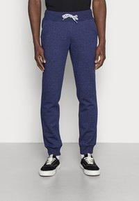 Pier One - Teplákové kalhoty - mottled dark blue - 0