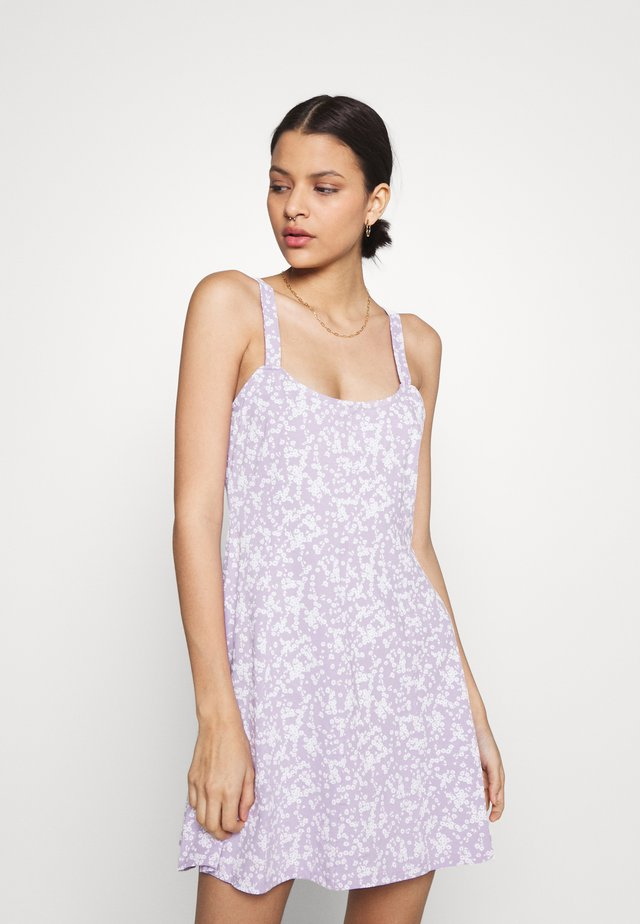 TURNER STRAPPY MINI DRESS - Jersey dress - lilac