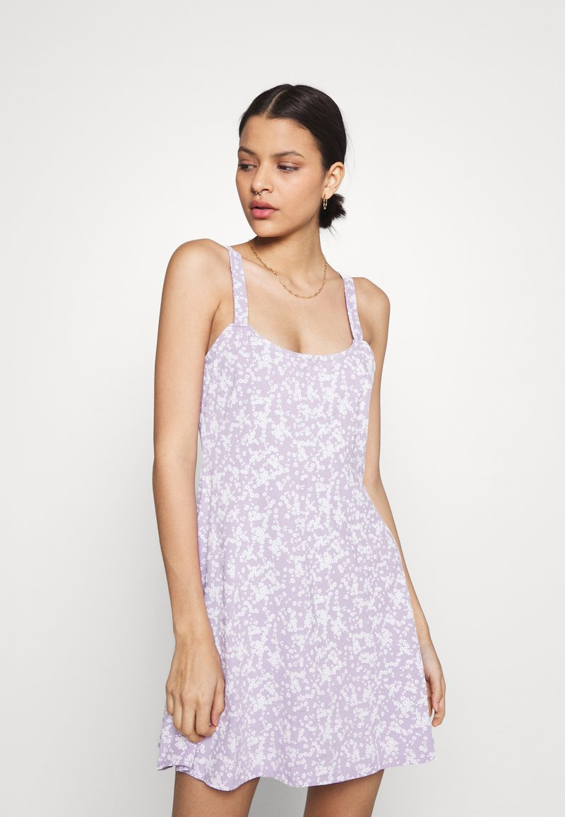 Cotton On - TURNER STRAPPY MINI DRESS - Jersey dress - lilac