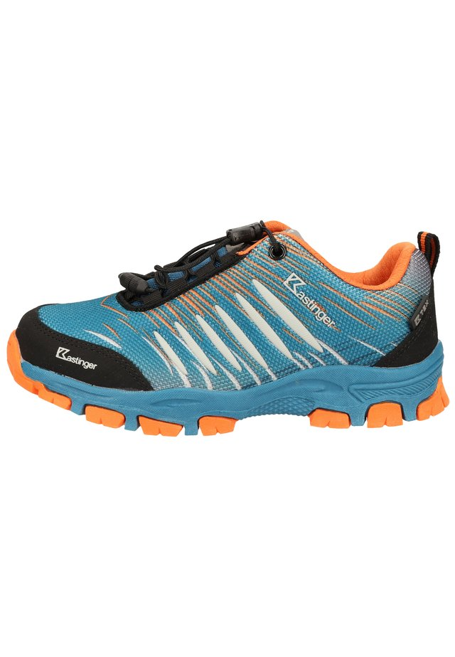 KASTINGER WANDERSCHUHE - Baskets basses - petrol/orange 459