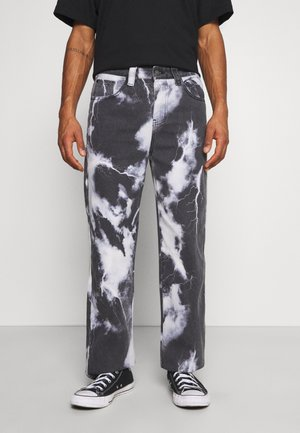 LIGHTNING CLOUD SKATE - Jeans baggy - dark grey