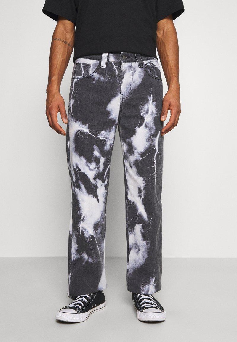 Jaded London - LIGHTNING CLOUD SKATE - Jeans relaxed fit - dark grey