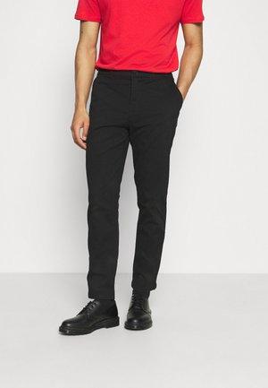 CHINO TROUSERS - Chino kalhoty - black