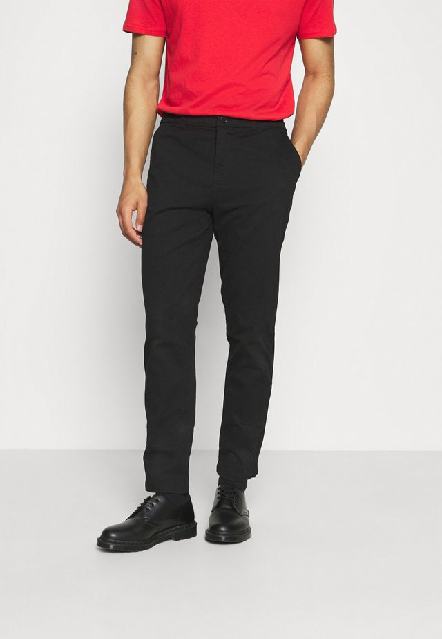 CHINO TROUSERS - Chinos - black