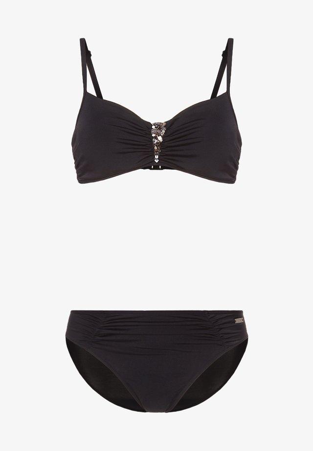 LAPIZ - Bikini - black