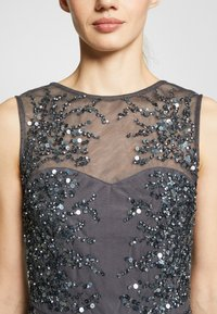 Lace & Beads - RIVIERA MAXI - Abito da sera - charcoal - 5