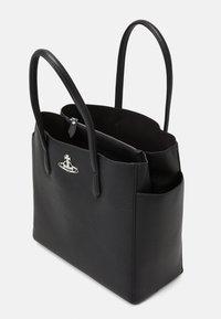 Vivienne Westwood - JOHANNA LARGE SHOPPER BAG UNISEX - Tote bag - black - 3