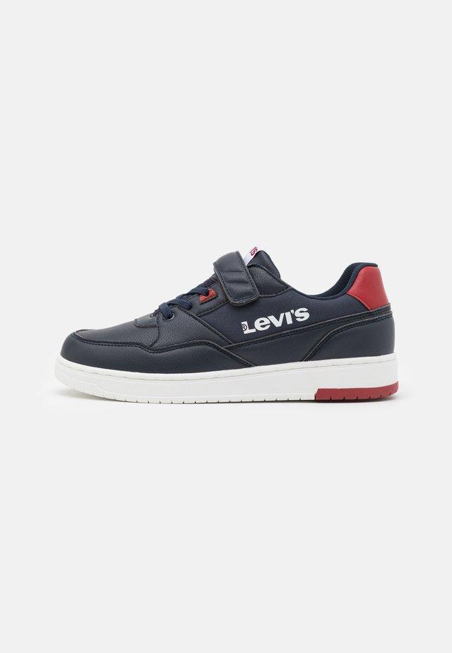 SHOT  - Sneakers basse - navy/red