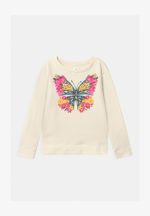 GIRLS CREW - Sweater - ivory frost