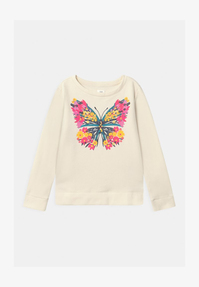 GAP - GIRLS CREW - Sweatshirt - ivory frost