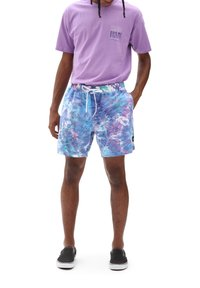 Vans - MN TIE DYE VOLLEY - Shorts - english lavender tie dye - 0