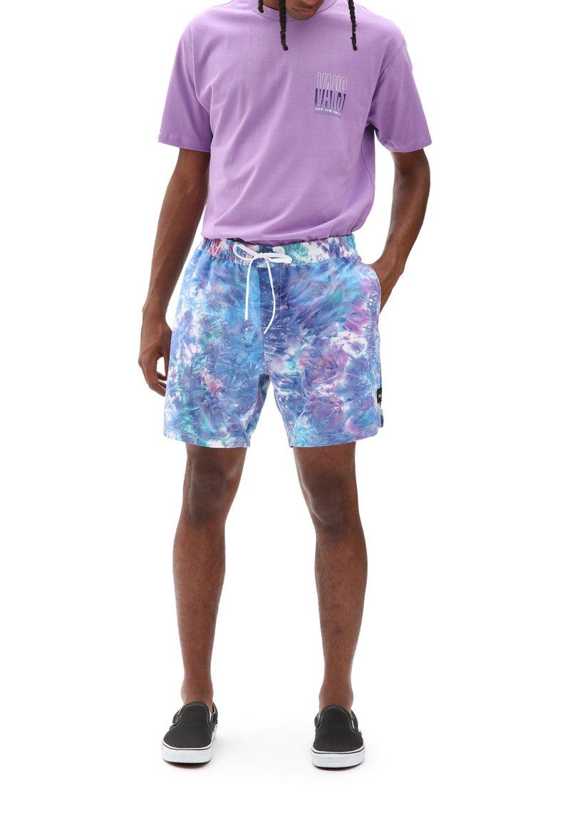 Vans - MN TIE DYE VOLLEY - Shorts - english lavender tie dye