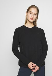 The North Face - WOMENS GLACIER CREW - Fleece jumper - black - 0