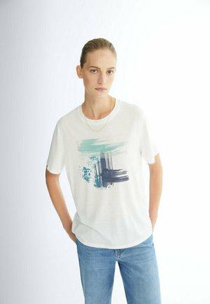 MIT PRINT  - T-shirt imprimé - blue