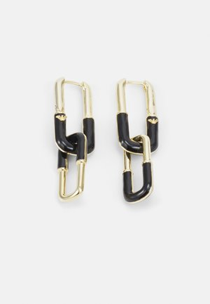 MODERN HERITAGE - Earrings - gold-coloured/black