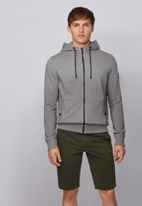 BOSS - ZOUNDS  - Zip-up hoodie - light grey - 0