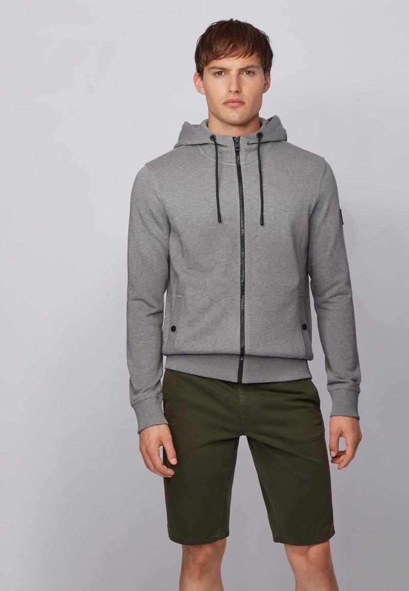 BOSS - ZOUNDS  - Zip-up hoodie - light grey