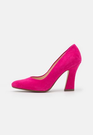 DAJA - Zapatos altos - berry