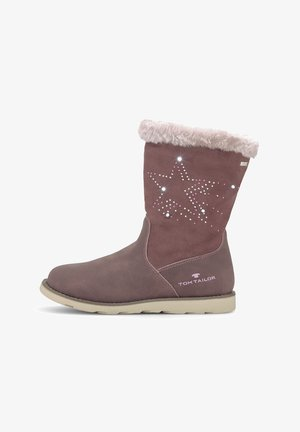 MIT STRASSSTEINEN - Winter boots - old rose