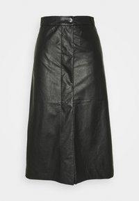 Lovechild - GIOVANNI SKIRT - A-line skirt - black - 4