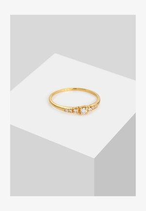 RING VERLOBUNGSRING DIAMANTEN (0.14 CT) 585 WEISSGOLD - Ring - gold
