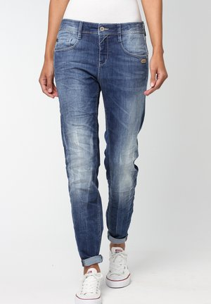 AMELIE - Relaxed fit jeans - dark blue denim