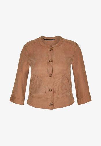 UNIFARBENEM - Light jacket - braun