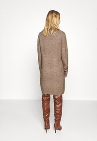 Even&Odd - Strikket kjole - brown - 2