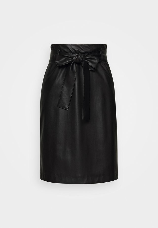 RAKONIS - Mini skirt - black
