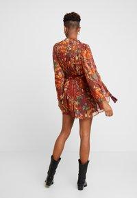 Topshop - AUTUMN FLORAL TASSEL TIE - Day dress - multi - 3