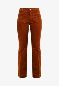 FLARE - Broek - tobacco brown