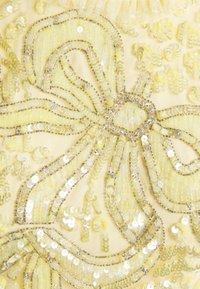 Needle & Thread - SHIRLEY RIBBON BODICE  DRESS - Suknia balowa - lemon curd - 8