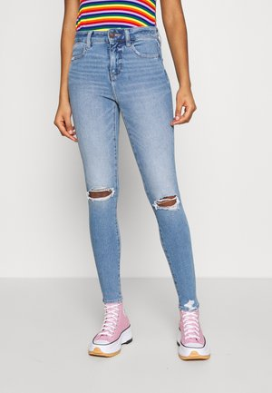 HI RISE DREAM - Jeans Skinny Fit - medium bright indigo