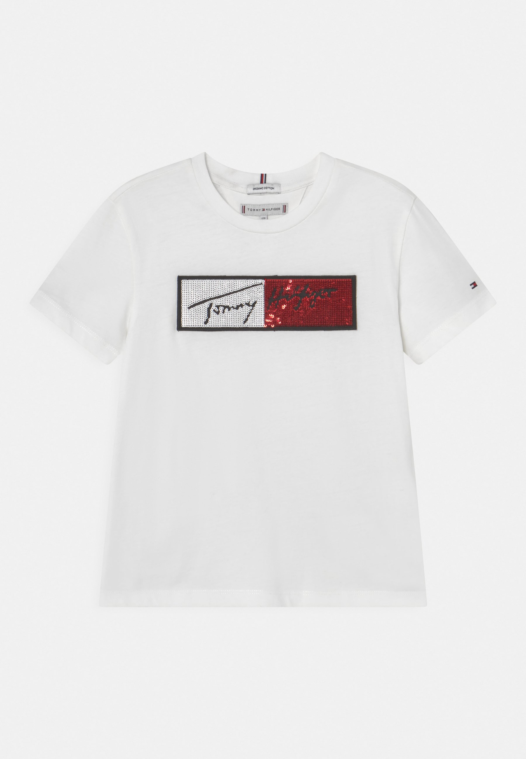 Bambini SEQUINS FLAG TEE - T-shirt con stampa