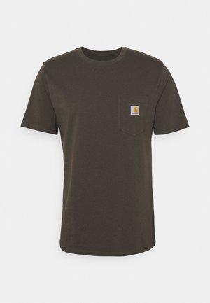 POCKET - Basic T-shirt - cypress