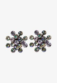 Konplott - MAGIC FIREBALL - Earrings - yellow/lila antique/silver-coloured - 1