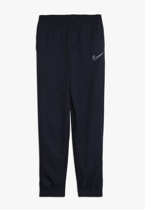 DRY PANT - Trainingsbroek - obsidian/white