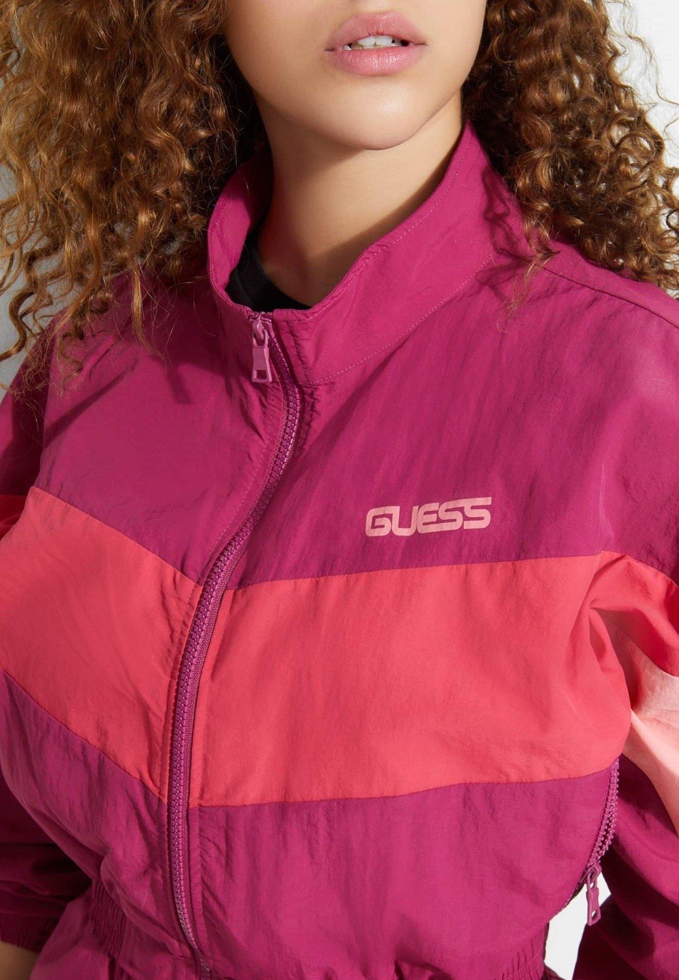 Guess Fleece jumper - roze multi