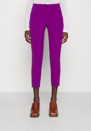 GISELE MODERN PANTS - Trousers - funky berry