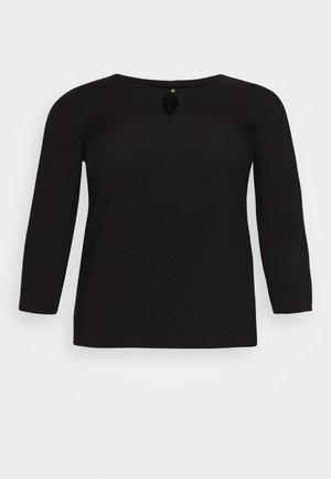 VMNADS 3/4 FOLD UP - Blouse - black