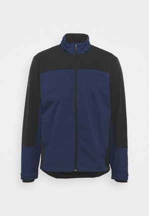 BLOCK FULL ZIP WINDJACKET - Windbreaker - peacoat caviar