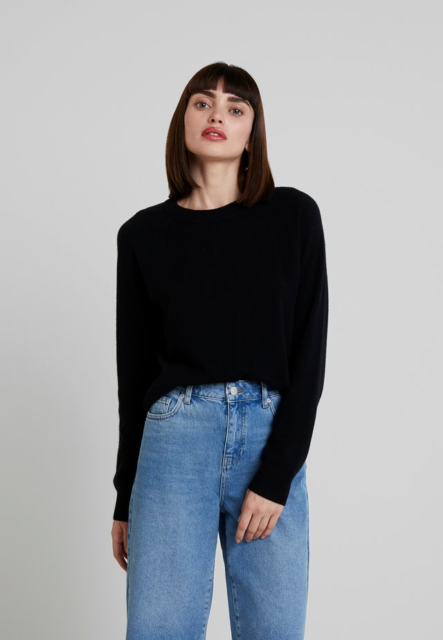 BOSTON O NECK - Jumper - black