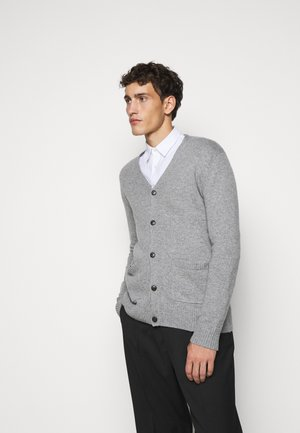 SEAN - Cardigan - light grey melange